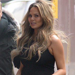 Chrissy Teigen Out in NYC February 2016