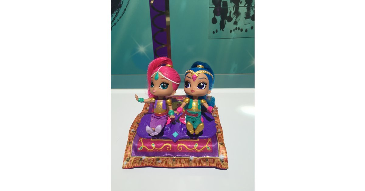 Fisher Price Shimmer And Shine Magic Flying Carpet See