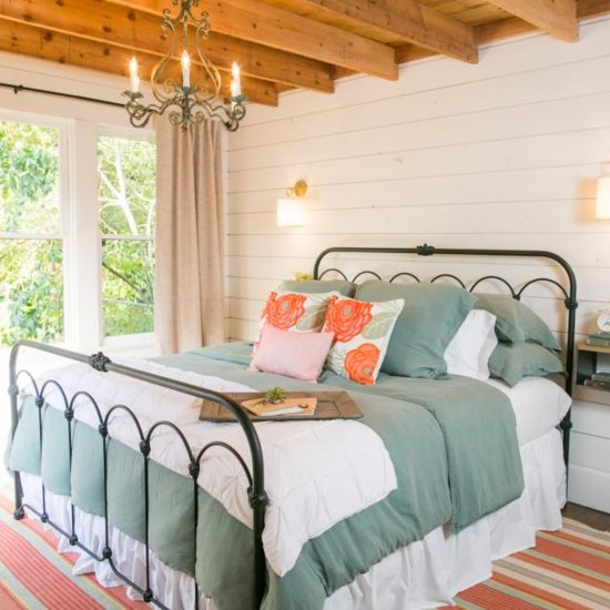 Fixer upper decorating inspiration popsugar home - Joanna gaines bedding ideas ...