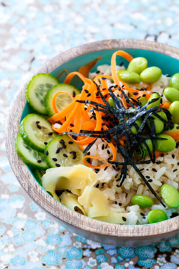 Spicy Veggie Sushi Bowls | 13 Homemade Sushi Recipes That Are Better ...