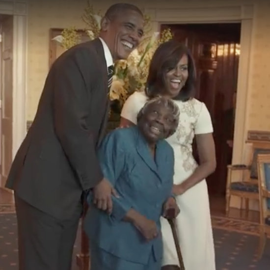 106-Year-Old Woman Dances With President Obama