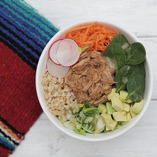 BBQ Pulled-Pork Rice Bowl Recipe