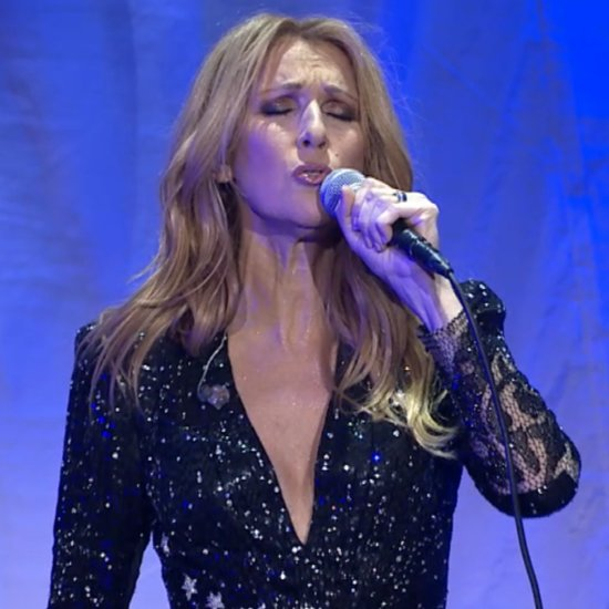 Celine Dion Returns to Stage After Husband's Death