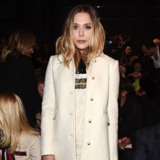 Elizabeth Olsen's Dress at the Gucci Fall 2016 Show