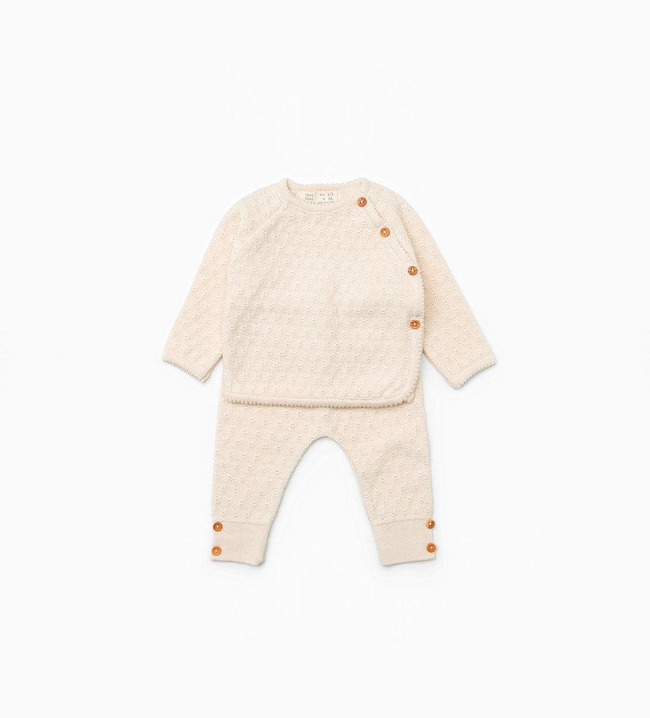 Zara Mini Silk Cotton Set