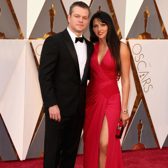 Matt Damon at the Oscars 2016