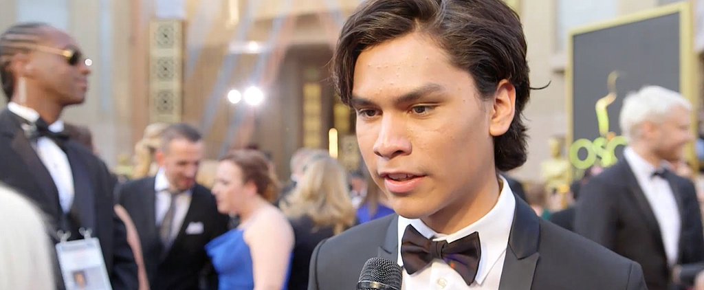 """Leonardo DiCaprio's Onscreen Son Forrest Goodluck on How Leo """"Completely Changes"""" on Set"""