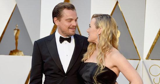 Leonardo DiCaprio And Kate Winslet Had 'Titanic' Reunion At Oscars