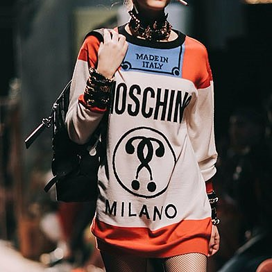 Right to Retail | Shop Moschino AW 16 ITSLIT Collection