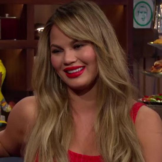 Chrissy Teigen Explains Her Oscars Cringe Face | Video