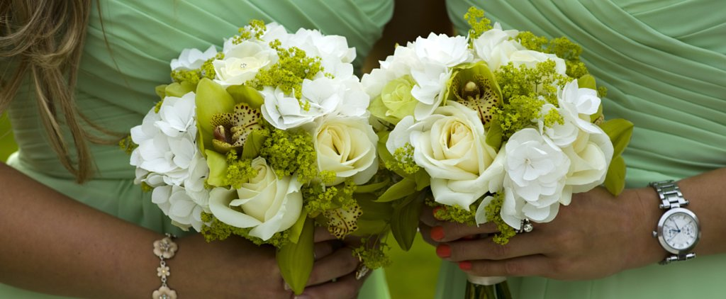 How to Incorporate 50 Shades of Green on Your Wedding Day