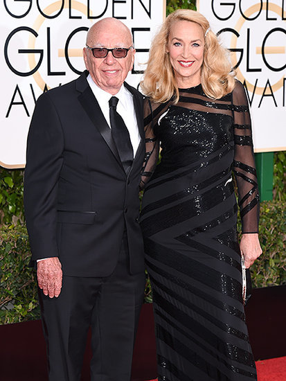 Rupert Murdoch and Jerry Hall Will Marry in London This Weekend