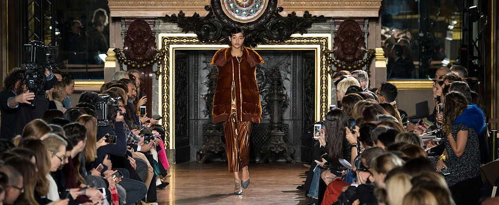 Stella McCartney Gives the Slip Dress a Sporty Kick For Autumn/Winter '16