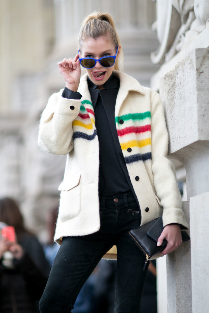 It's Day 7 and the Model Street Style's Only Getting Better at PFW