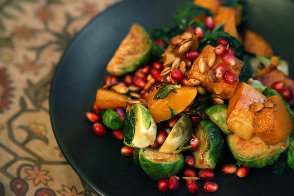 Kale and Butternut Squash Mason Jar Salad