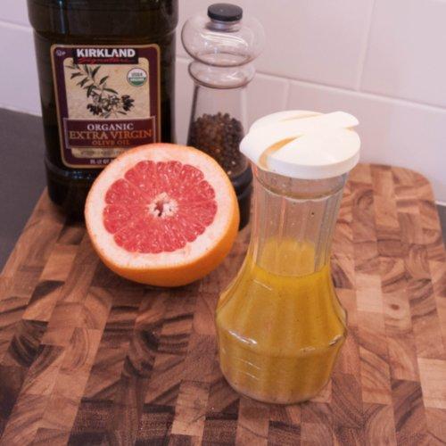 Apple Cider Vinegar and Grapefruit Dressing