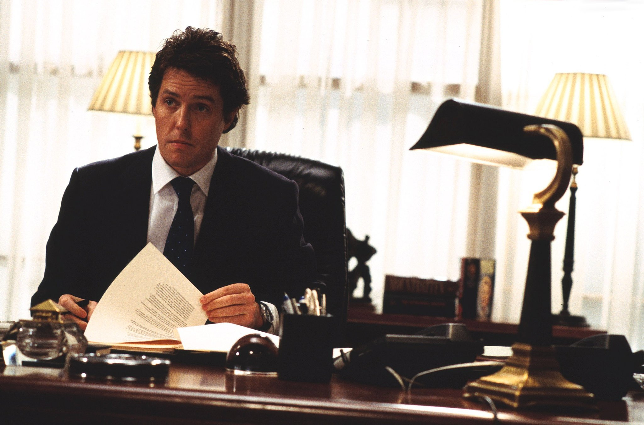 Hugh Grant, Love Actually