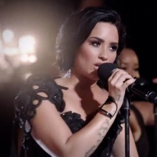 Demi Lovato Victoria's Secret Swim Special Performance Video