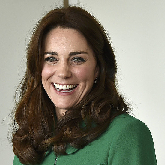 The Duchess of Cambridge Green Erdem Coat March 2016