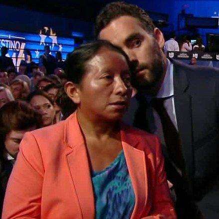 Immigrant Woman Asks Question During Democratic Debate 2016
