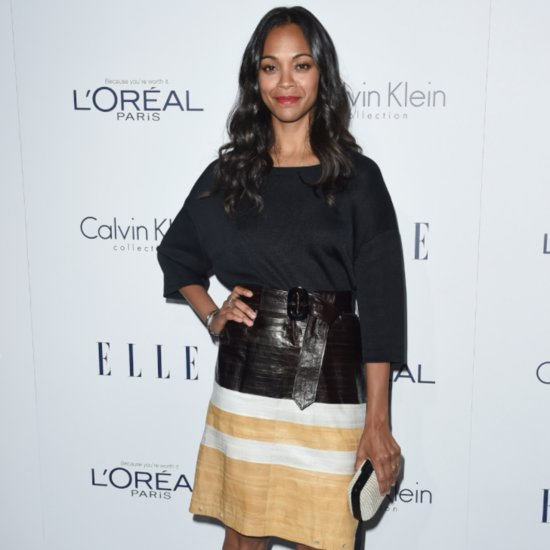 Zoe Saldana Previews Star Trek Beyond Uniform