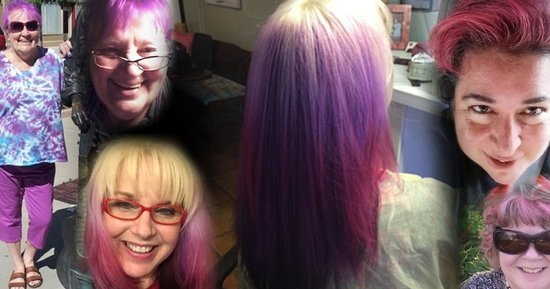 7 Women Over 50 On Why They're Dyeing Their Hair Crazy Colors