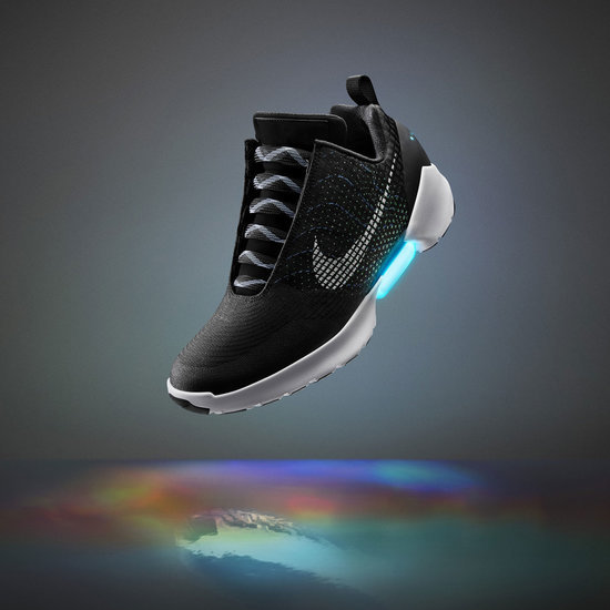 Self-Lacing Shoe Announcement at NIKE Innovation Event 2016