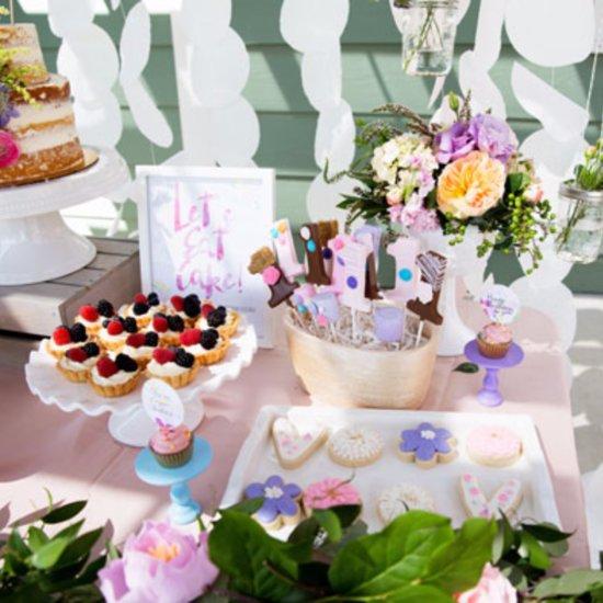 Garden First Birthday Party