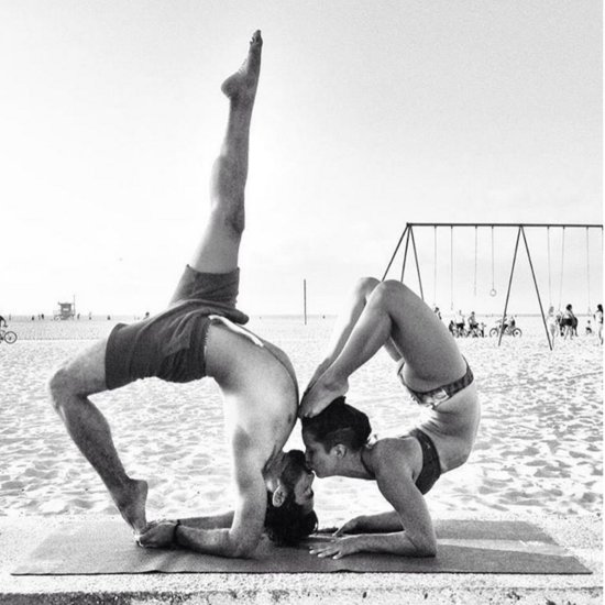 Kissing Yoga Photos
