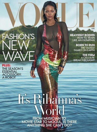 Rihanna addresses rumoured rivalry with Beyoncé in VOGUE cover profile