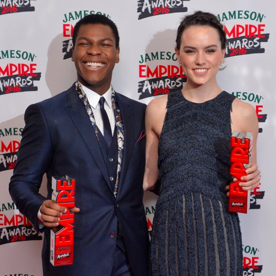 Daisy Ridley and John Boyega at the Empire Film Awards 2016