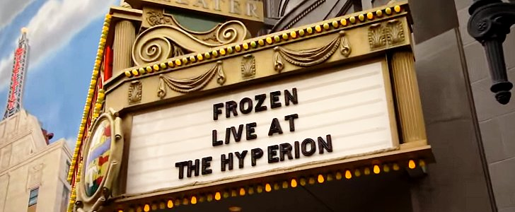 Get a Sneak Peek of Disneyland's Live Production of Frozen