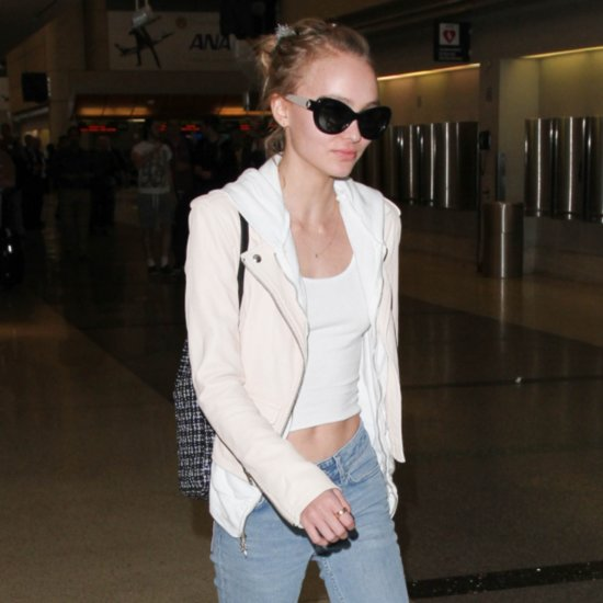 Lily-Rose Depp's Chanel Backpack
