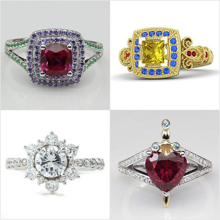 disney princess engagement rings popsugar