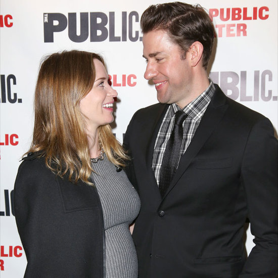 Emily Blunt and John Krasinski on the Red Carpet March 2016