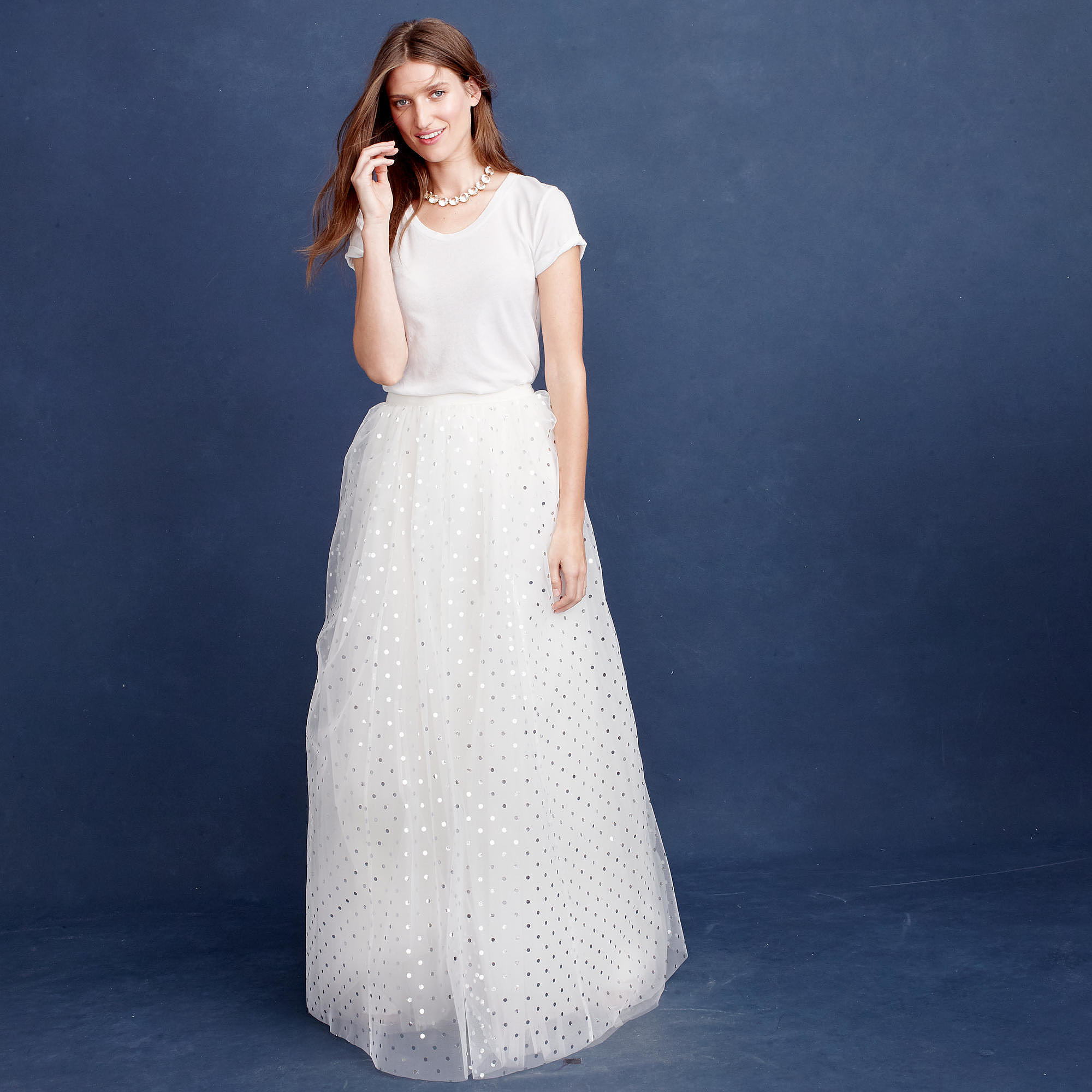 J Crew Dalila Tulle Skirt 750 20 Gorgeous Wedding