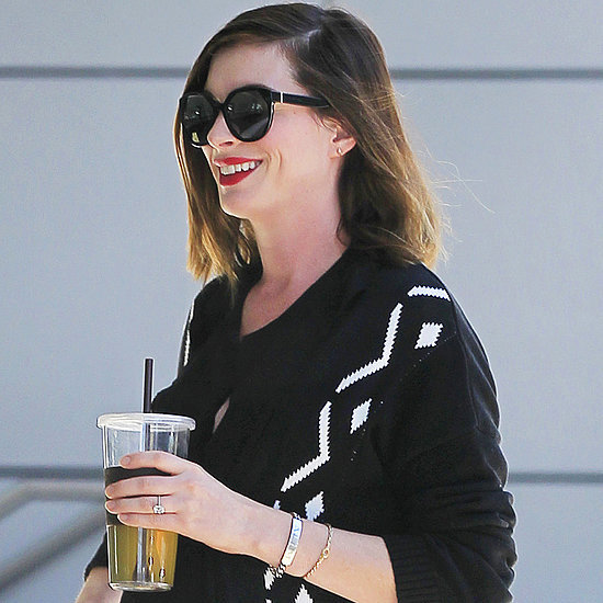 Anne Hathaway Pregnancy Style