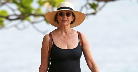 Annette Bening, 57, Proves That the Black One-Piece Never Goes Out of Style