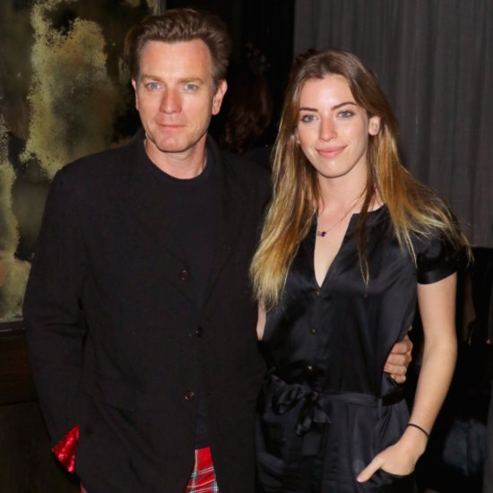 Ewan McGregor and Daughter March 2016