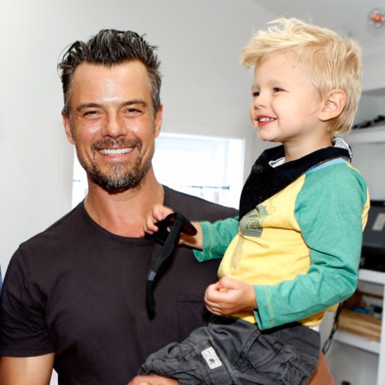 Josh Duhamel and Son Axl Out in LA March 2016
