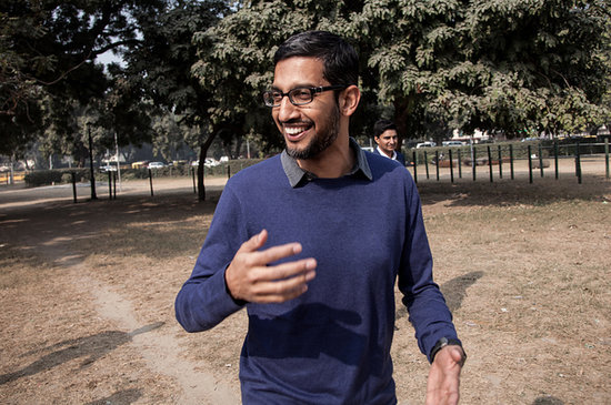 Searching For Google CEO Sundar Pichai, The Most Powerful Tech Giant You've Never Heard Of