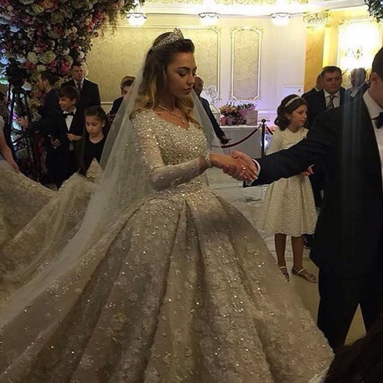 Russian Oligarch's Wedding Dress