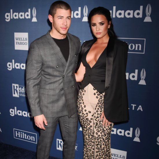 Demi Lovato at the GLAAD Media Awards 2016