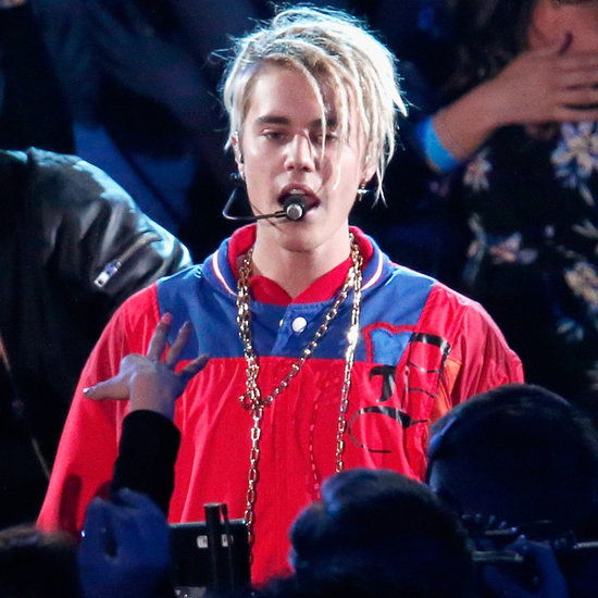 Justin Bieber Sings at the iHeartRadio Music Awards 2016