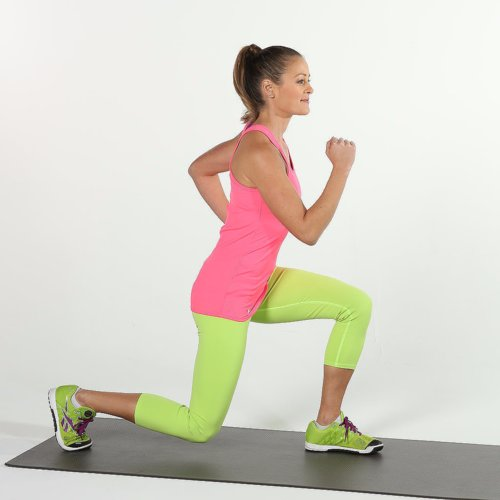 Full Body Circuit Workout to Strengthen Legs, Abs, and Arms