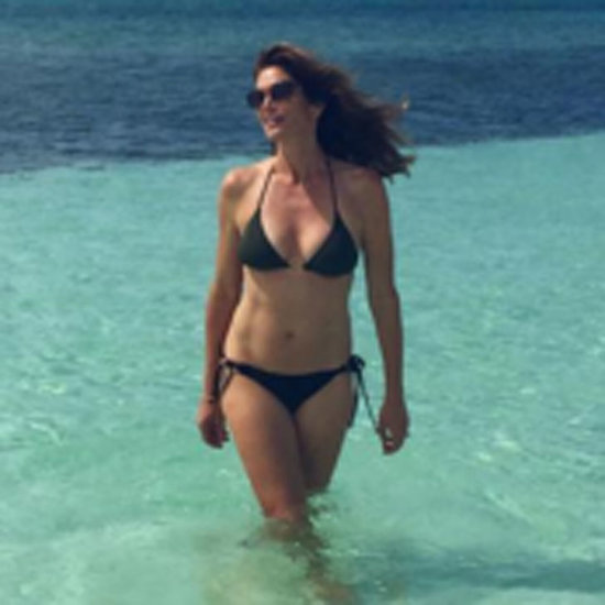 Cindy Crawford Holiday Photos April 2016