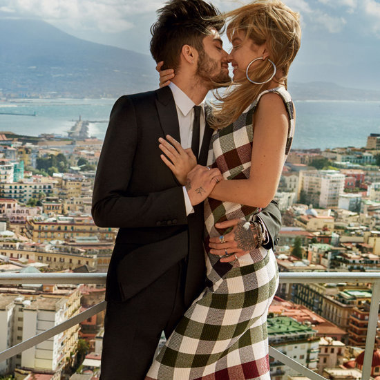 Gigi Hadid and Zayn Malik in May 2016 Vogue