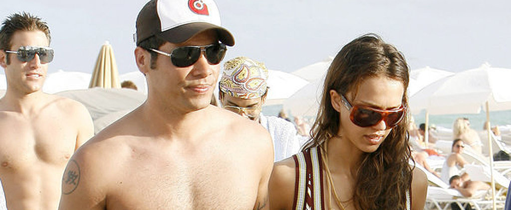 Throwback Photos of Celebrity Couples on the Beach That Will Really Take You Back