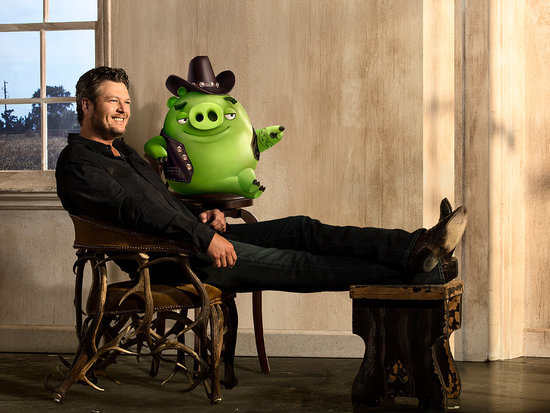 Blake Shelton Gets Playful in New Music Video for His Angry Birds Movie Song 'Friends'