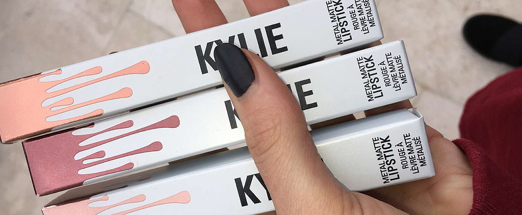 Kylie's New Metal Matte Lip Kits Are Completely Mesmerizing